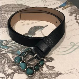 Talbots leather belt